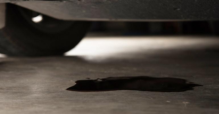Jaguar Engine Oil Leak
