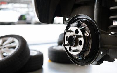 Jaguar Front Wheel Bearing Repair